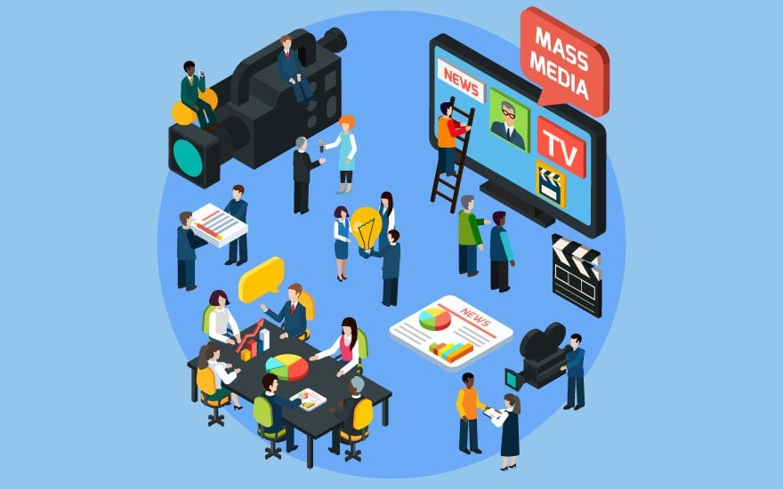 Most Common Types of Mass Communication